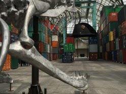 Détail sculpture en fonte d'aluminium, projet Empires de Huang Yong Ping